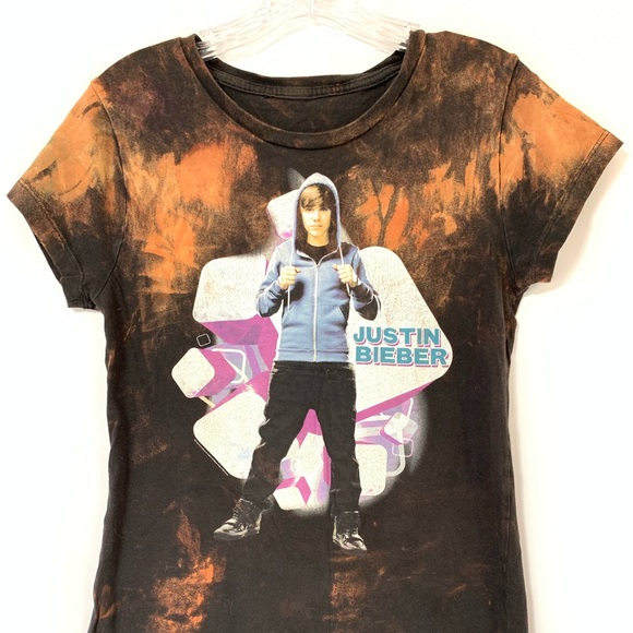 Justin Bieber Peaches Justice Graphic Tee T-Shirt